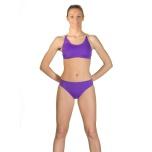 Cross Bikini Lila