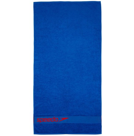 Speedo Border Towel blå